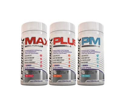 Liporidex Max, Plus & PM