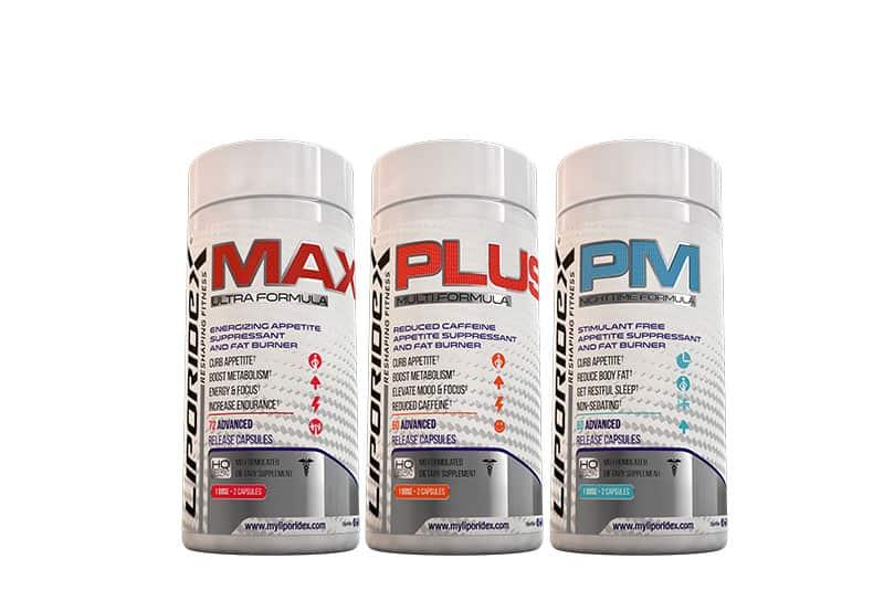 Liporidex Max, Plus & PM