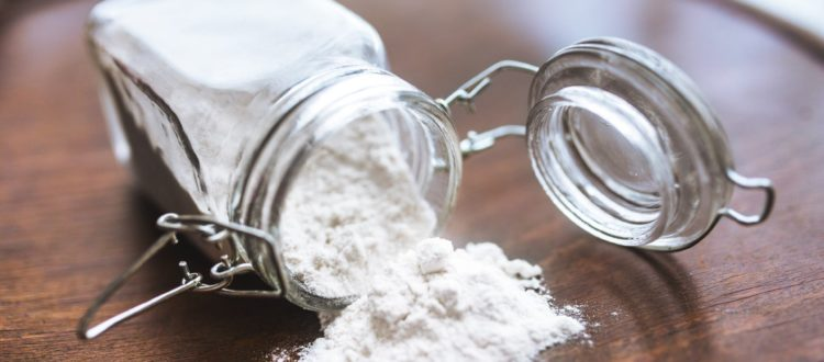 flour powder wheat jar