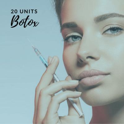 Botox 20 units