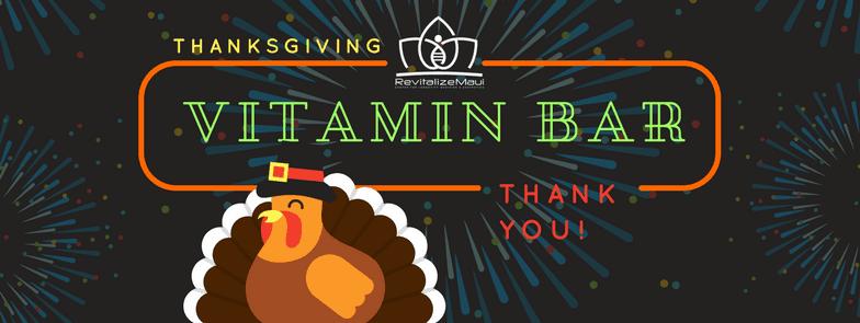 Thanksgiving Vitamin Bar